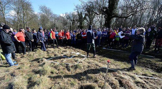 mass start harris orienteering